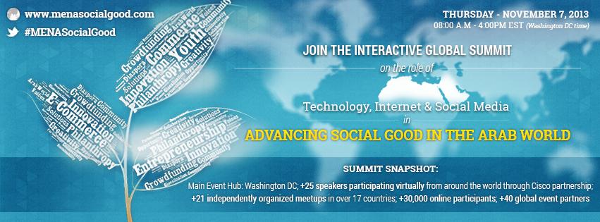 What's the Nexus Between Technology & Philanthropy to Produce #MENASocialGood?
