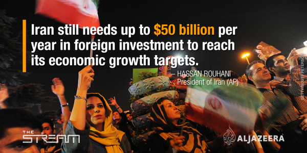 Lifting Economic Sanctions produces high expectations for Iran's economic growth.